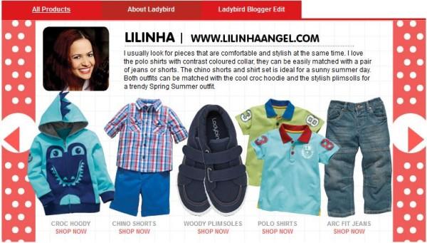 Ladybird SS14 at Littlewoods website