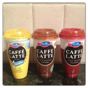 Vanilla, Cappuccino and Flat White