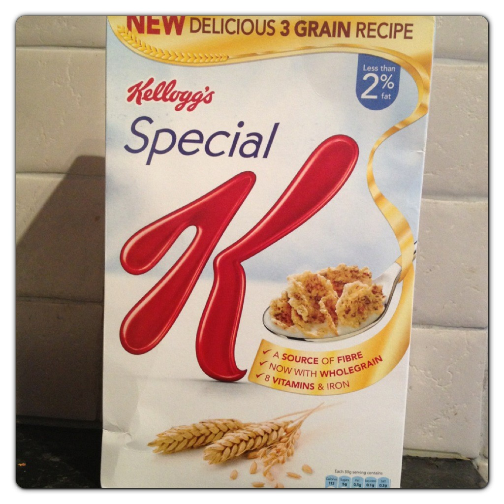 New Special K with 3 Grain Recipe