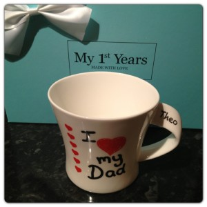 "My 1st Years ""I Love My Dad"" Mug"