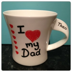 I Love My Dad Personalised Mug