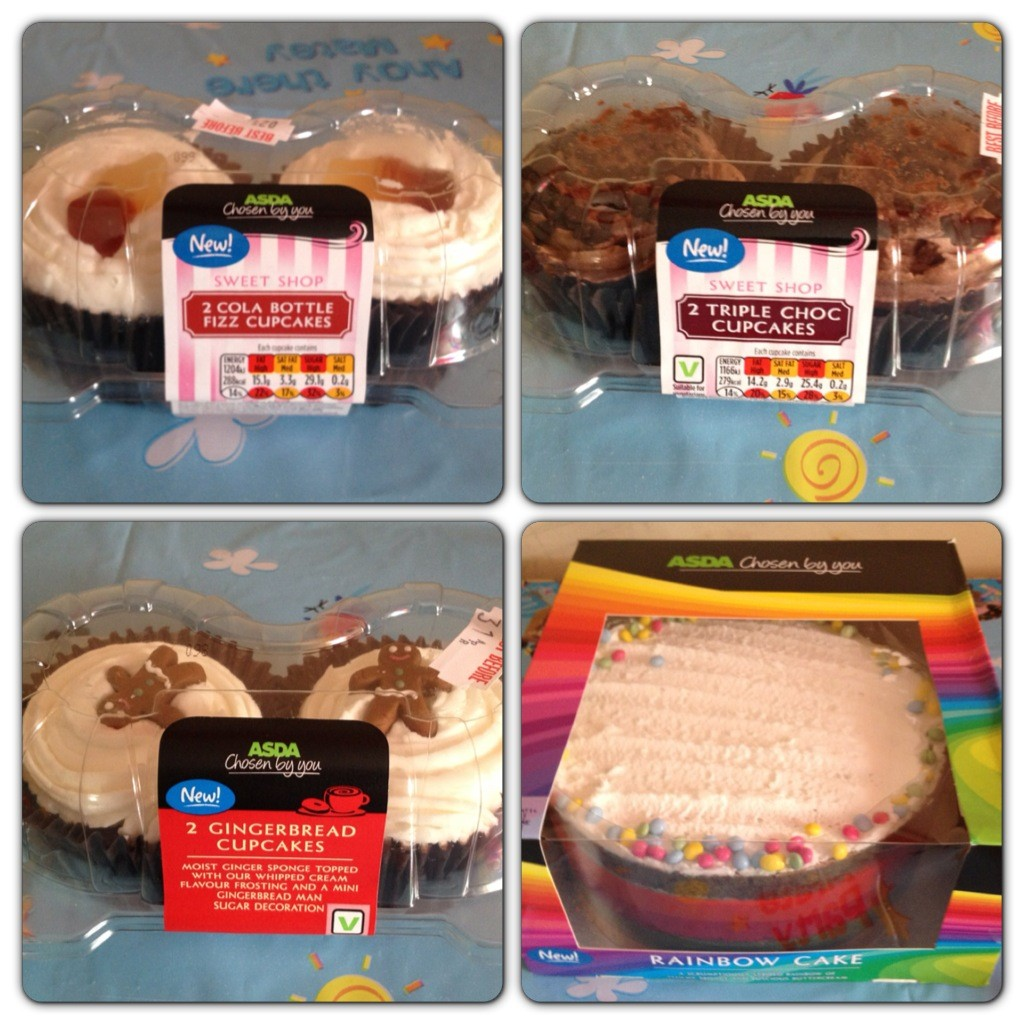 Cake and Cupcakes by Asda