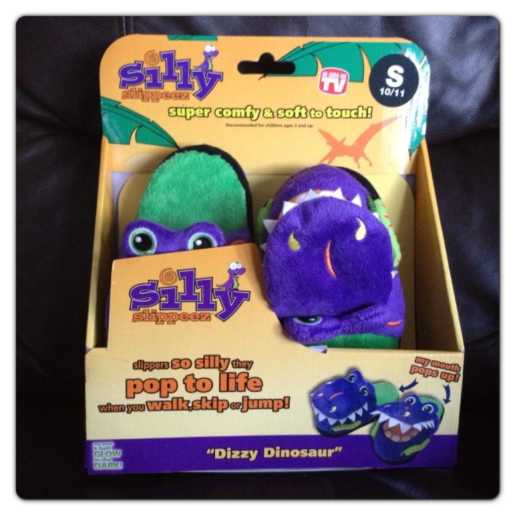 Silly Slippeez Dizzy Dinosaur