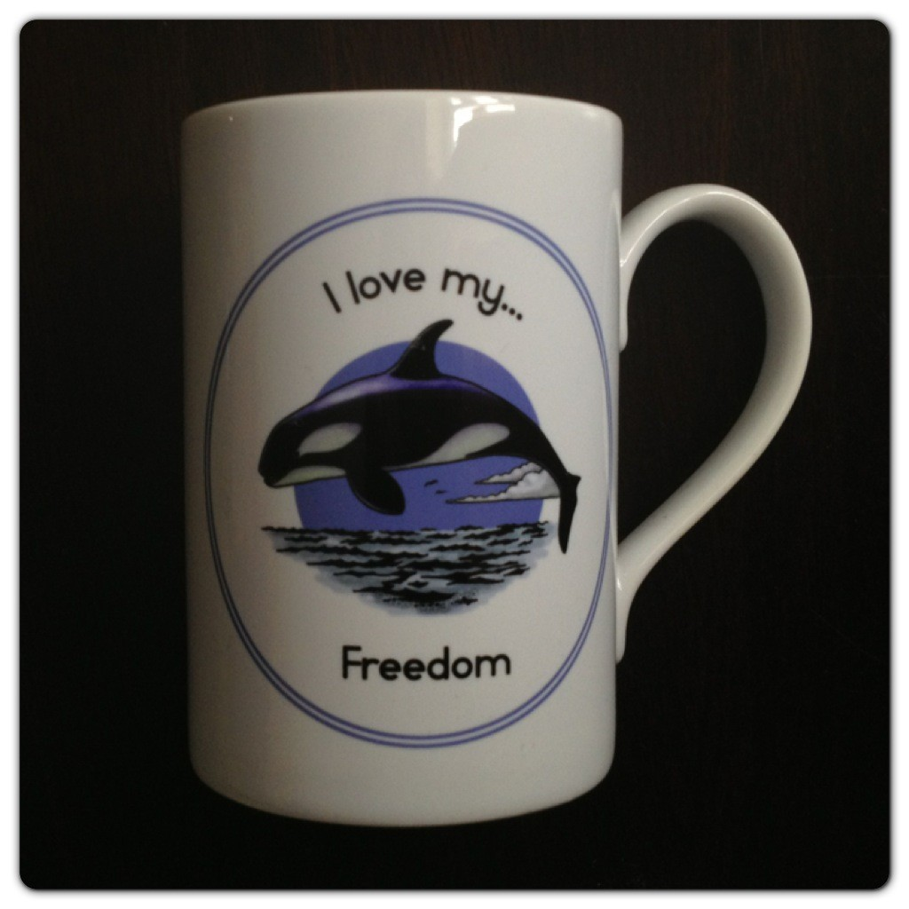 Ceramic Mug I love my Freedom