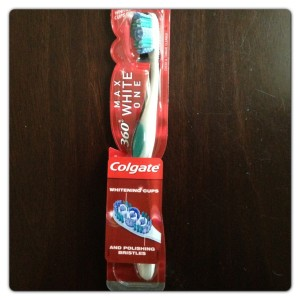 Colgate 360° MaxWhite One Toothbrush