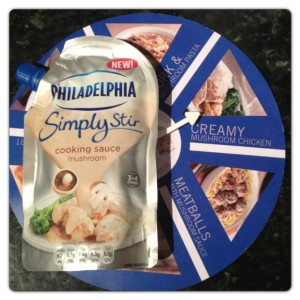 Philadelphia Simply Stir Mushroom