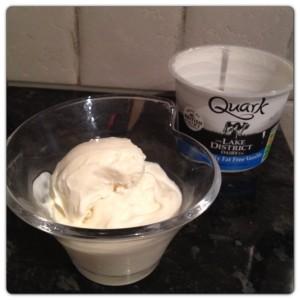 Frozen Vanilla Quark