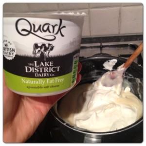 Quark White Sauce