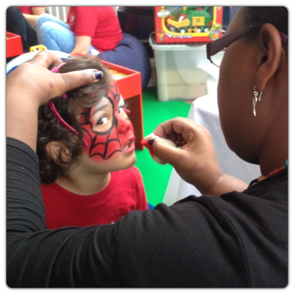 Face Painting at the Tree House
