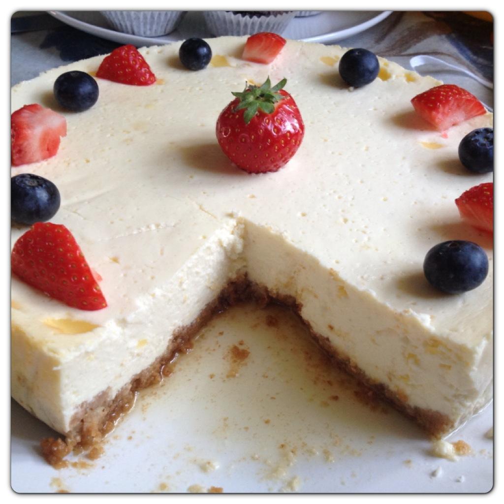 Quark New York Cheesecake Recipe Lilinha Angel S World Uk Food