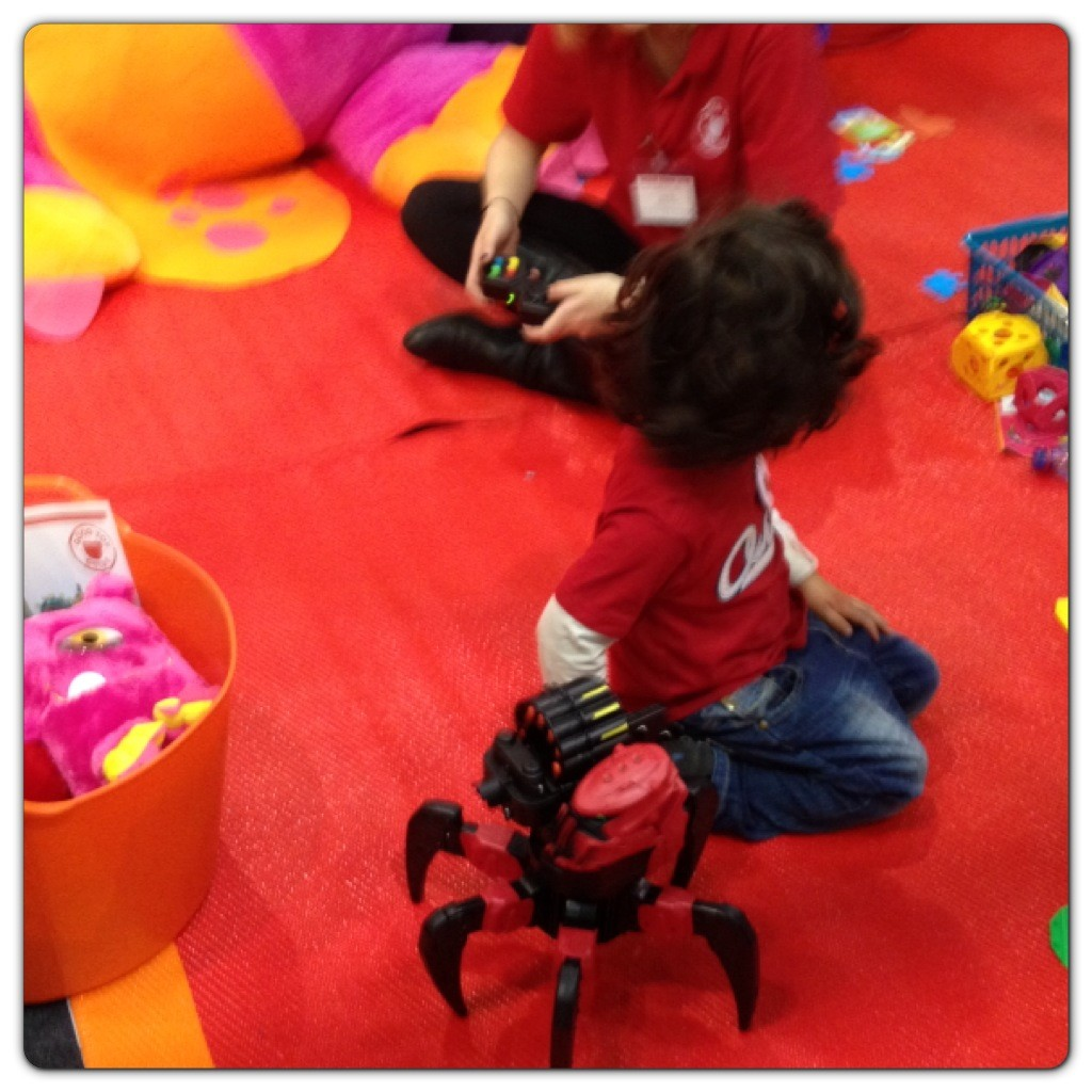 Play Zone at The Good Toy Guide Stand