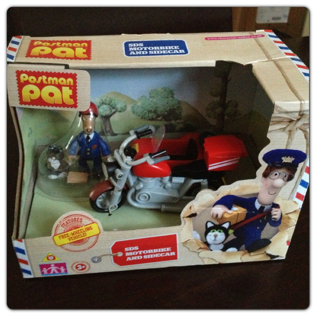 Postman Pat Special Delivery Service Vehicle