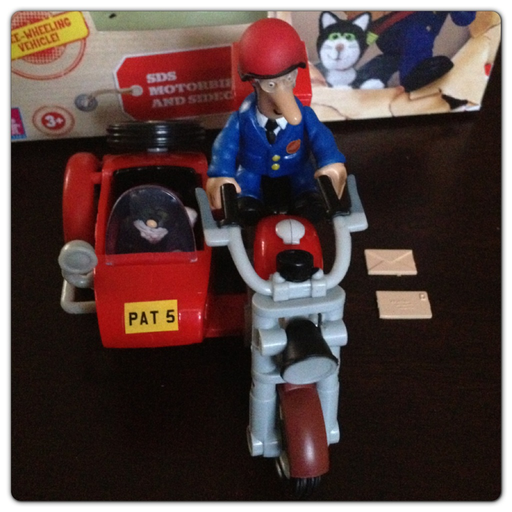 Postman Pat SDS Motorbike and sidecar