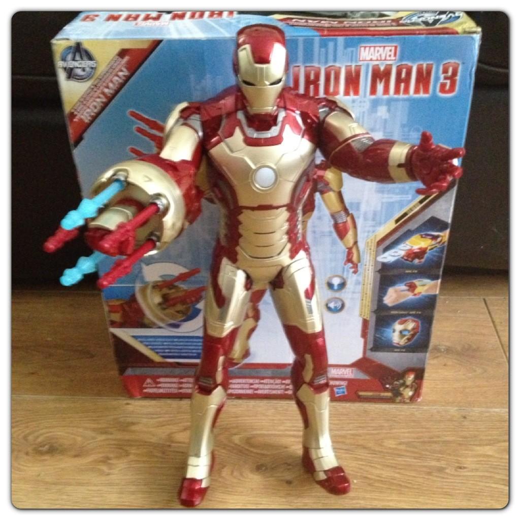 Iron Man 3 Sonic Blasting