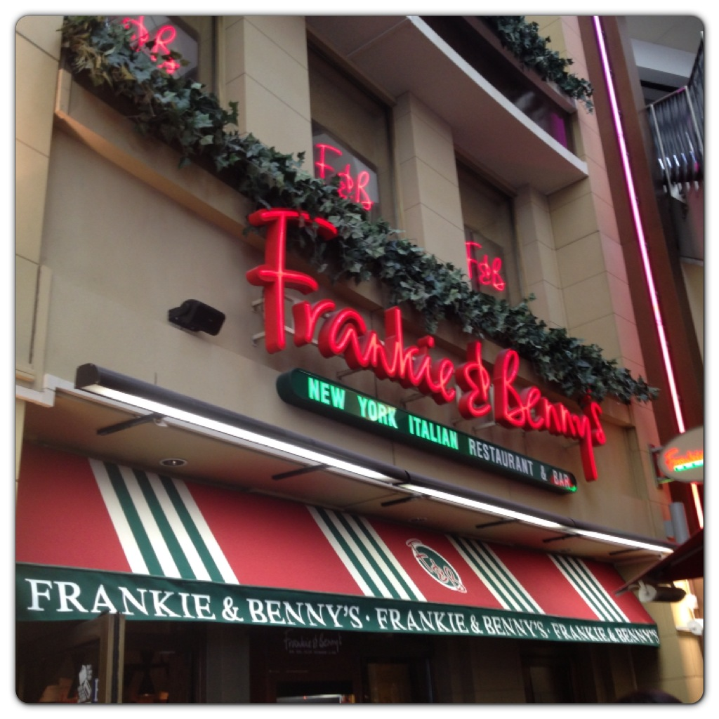 Frankie & Benny's at the O2