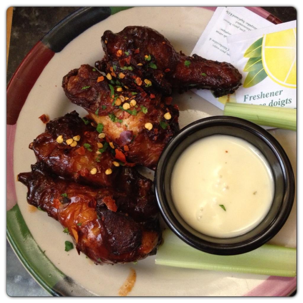 BBQ Chilli Wings