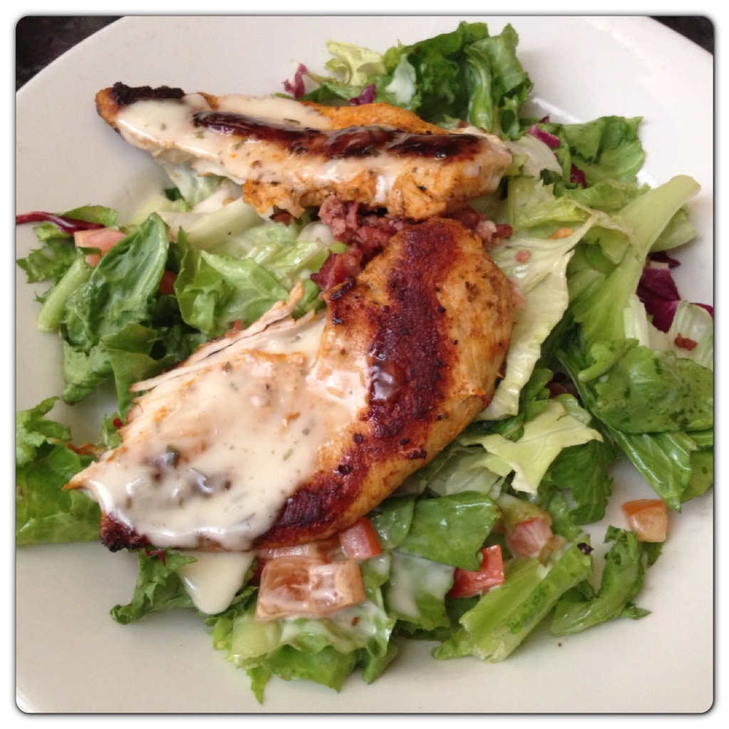Chicken & Bacon Ranch Salad