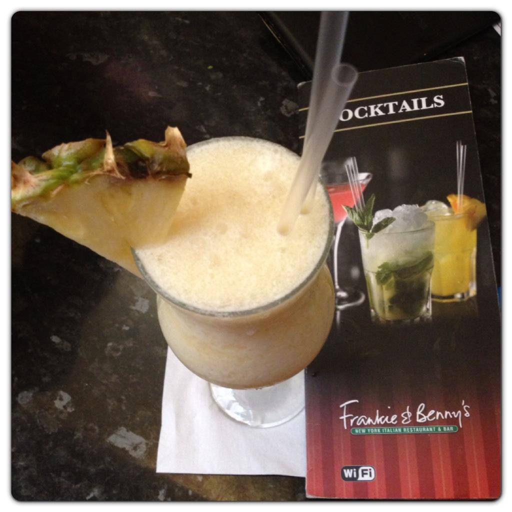 Cocktails at Frankie & Benny's