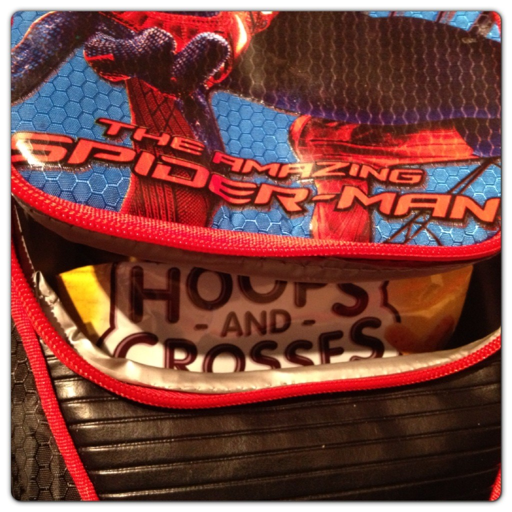 Peek at Spider-Man Lunchbox