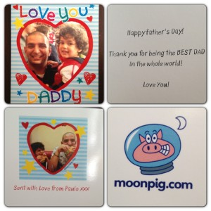 Moonpig Personalised Card