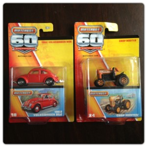 Matchbox 60th Anniversary Cars