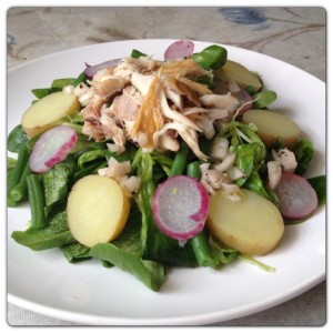 Smoked Mackerel Summer Salad