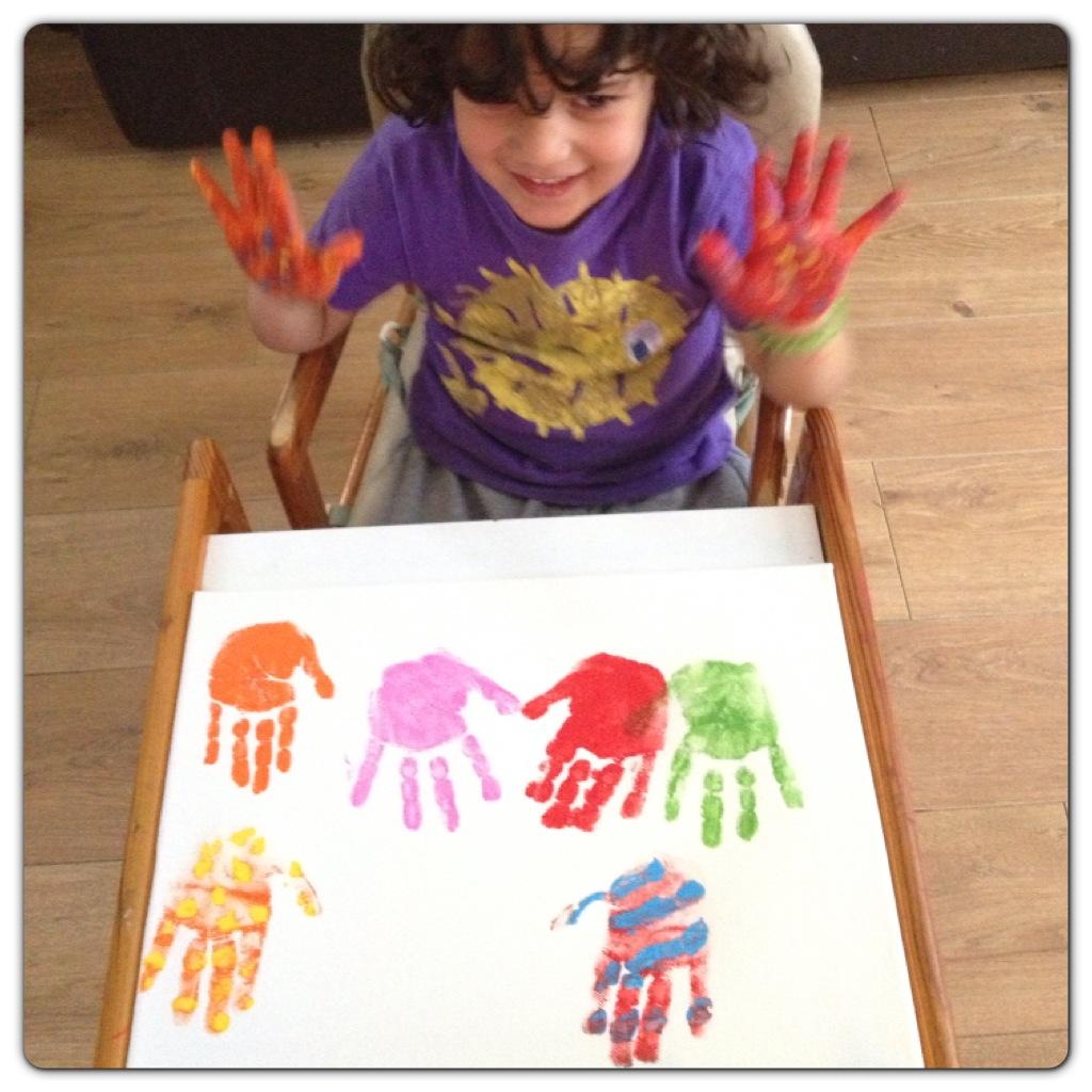 Canvas Handprinting