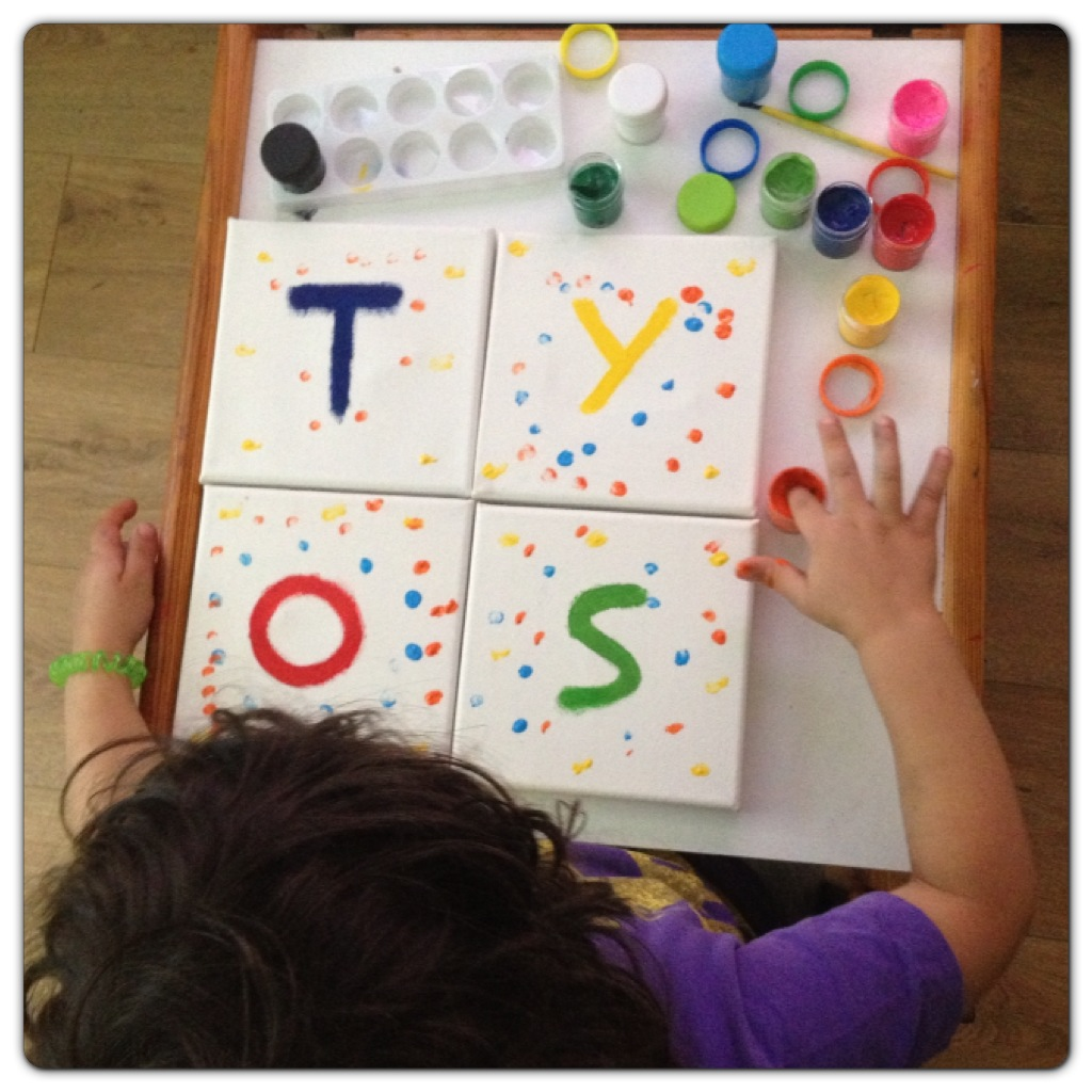Painting Toys Sign