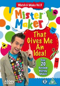 Mister Maker DVD