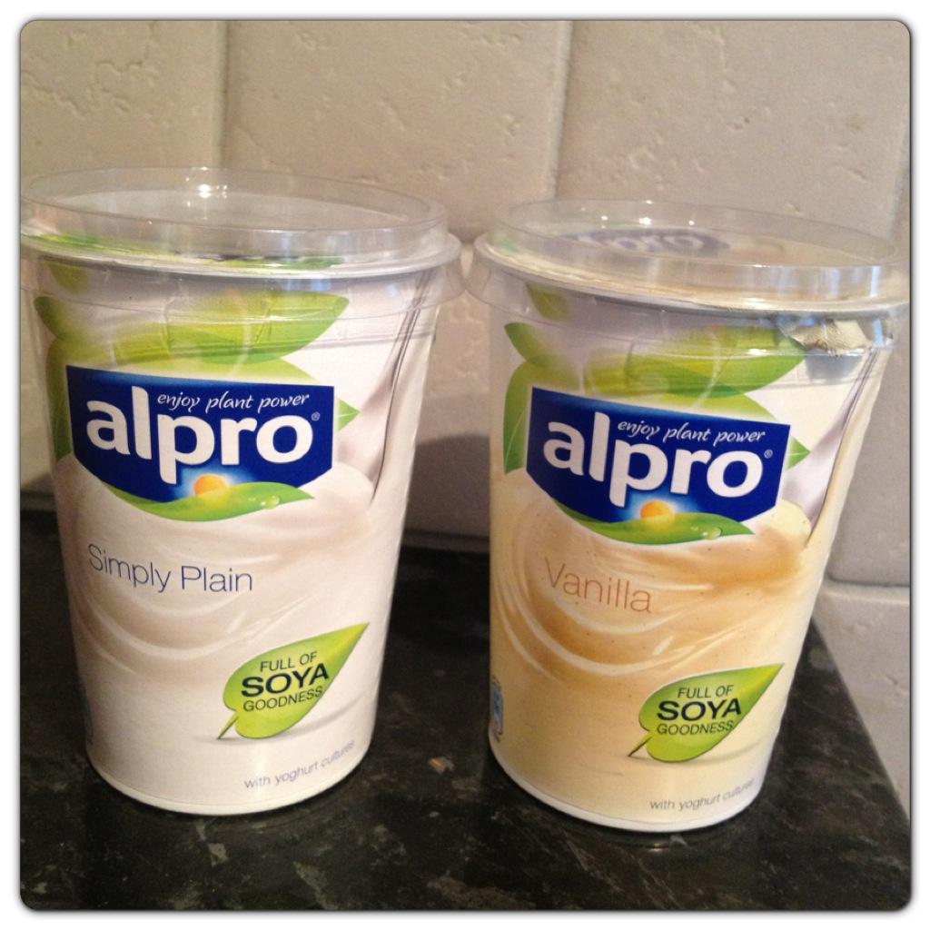 Alpro Yogurt Simply Plain And Vanilla Lilinha Angel S