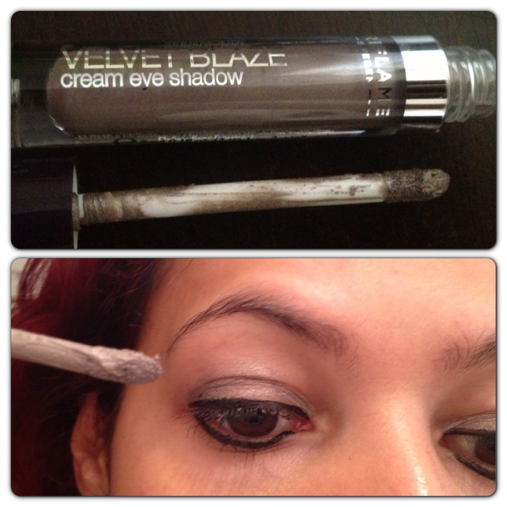 Velvet Blaze Cream Eye Shadow in Shimmer Taupe