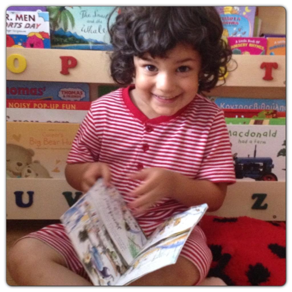 Little Man Loves Reading