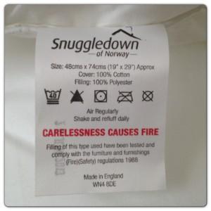 Snuggledown Front Sleeper Pillow