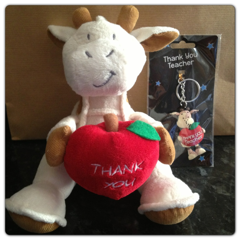 Thank you teacher gifts by asda lilinha angels world uk food cuddly toy and key ring negle Image collections