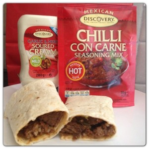 Beef Fajita with Chilli con Carne Seasoning