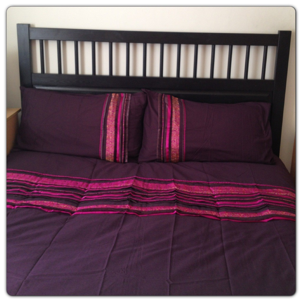 Plum Imogen Collection Duvet Cover Set