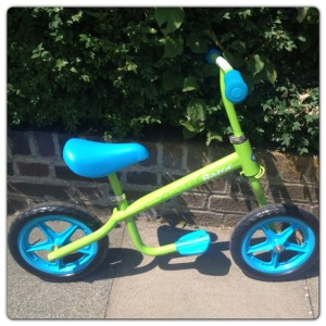 Kixi Razor Balance Bike: Ready to Go