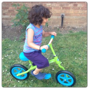 Little Man Riding  Kixi Balance Bike