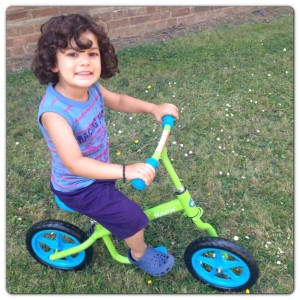 Having Fun with Kixi Balance Bike