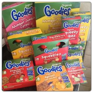 Organix New Goodies