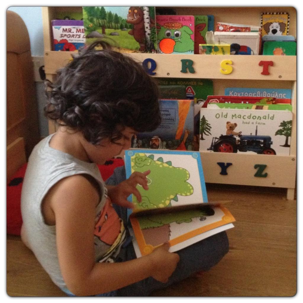 Little Man Reading