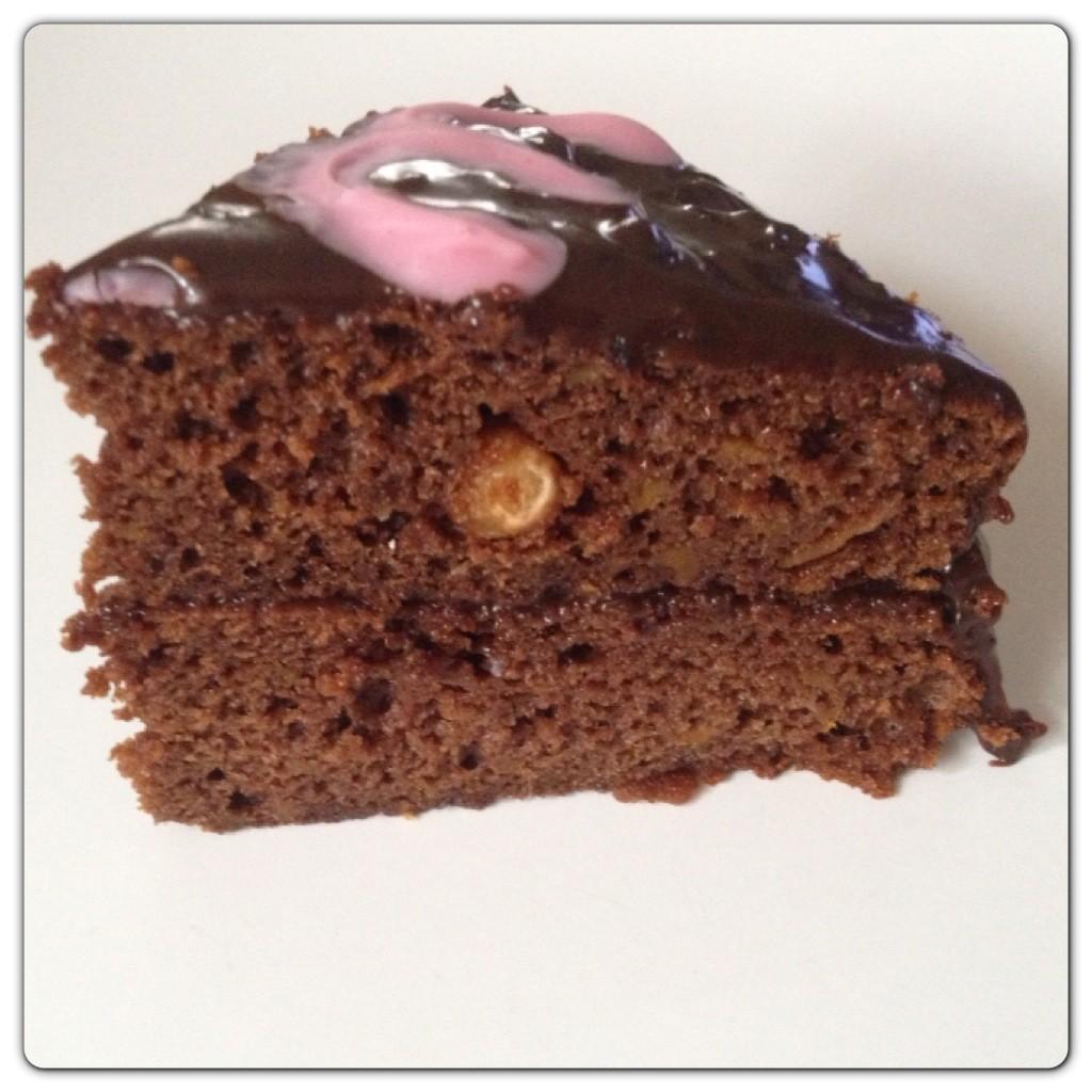 Chocolate Cake with Sweet Potato and Dairy Milk Whole Nut
