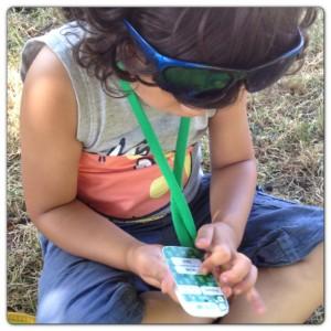 Little Man Using 1stFone