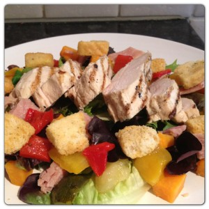 Chicken and Sweet Potato Summer Salad