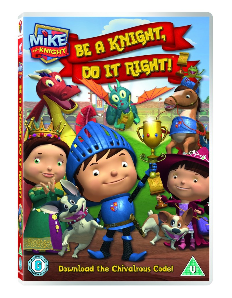 Mike the Knight DVD: Be a Knight, Do it Right
