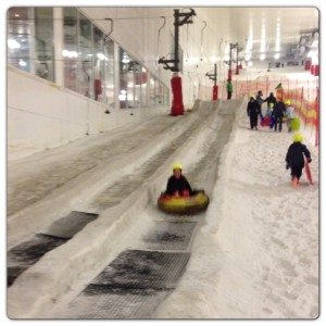 Ice Slide at Snozone