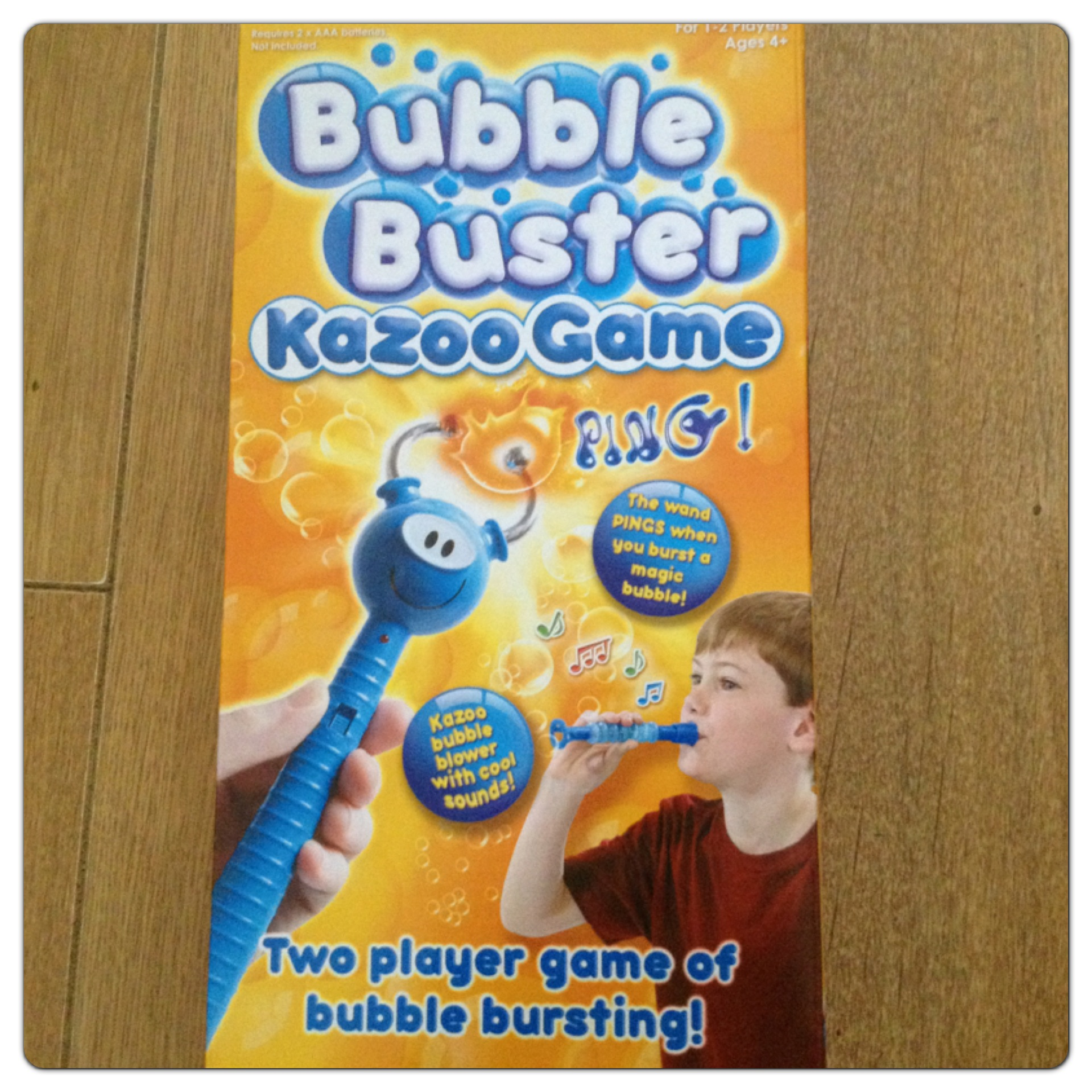 Bubble Buster Kazoo Game