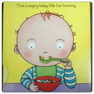 This Hungry Baby Fills his Tummy