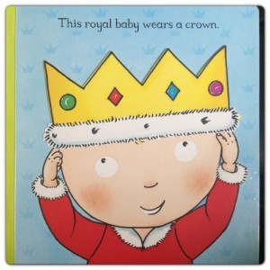 This Royal Baby Wears a Crown