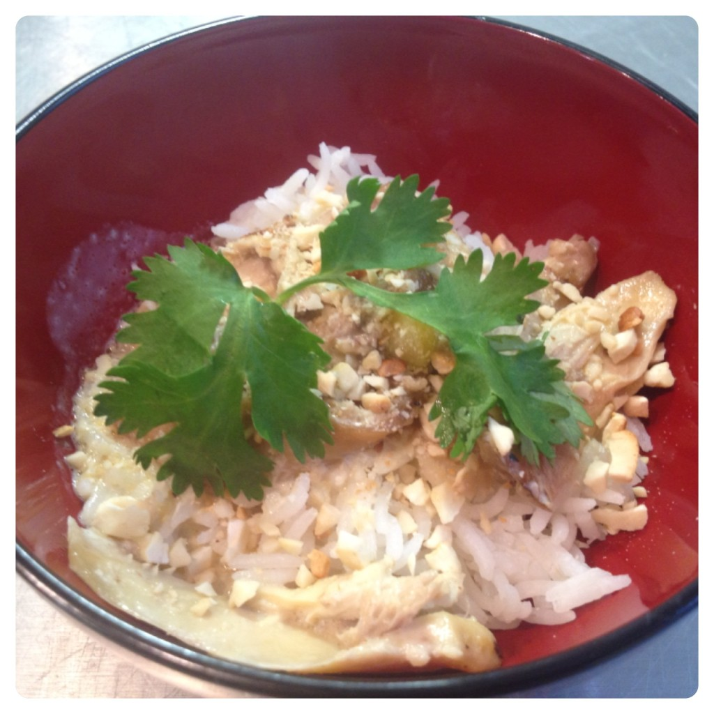 Chicken Pasanda with Ground Almonds
